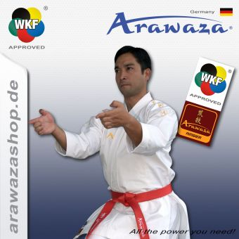 Arawaza Amber Evolution Gold - WKF approved
