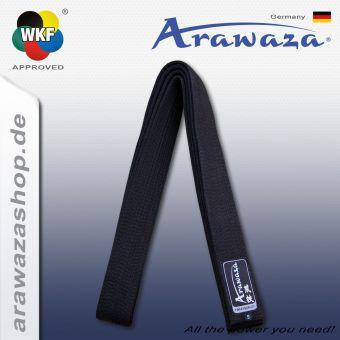 Arawaza Schwarzer Gürtel -ARAWAZA -Logo-