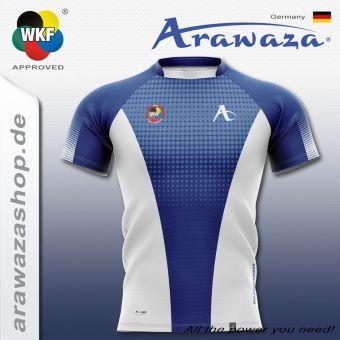 Arawaza Sport T-Shirt 13 S | Schwarz / Weiß