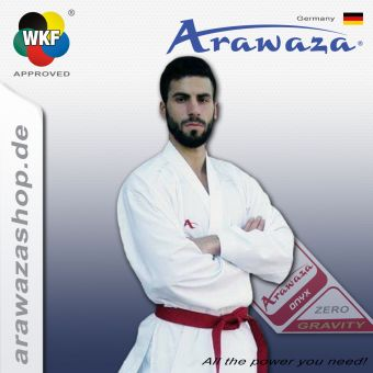 Arawaza Onyx Zero Gravity, WKF approved 170