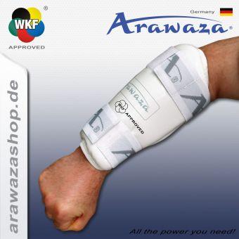 Arawaza Unterarmschutz P.U. weiß